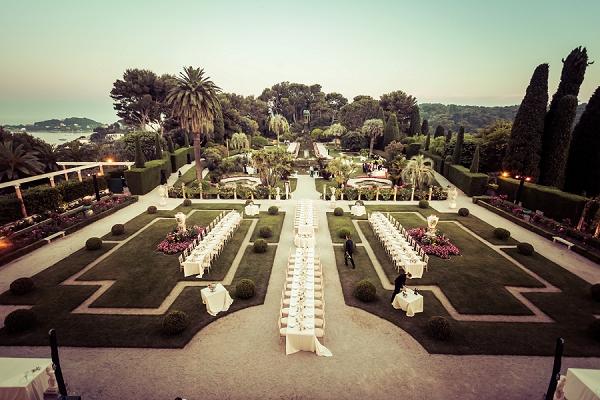 wedding reception gardens