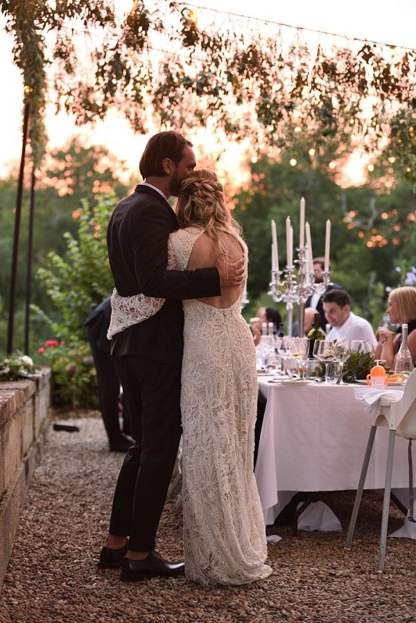 wedding reception meal