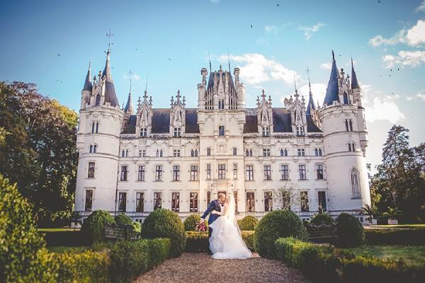 Chateau Challain Real Wedding