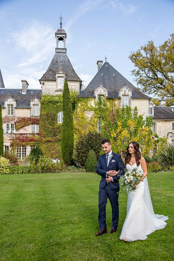 Chateau Mas De Montet real wedding
