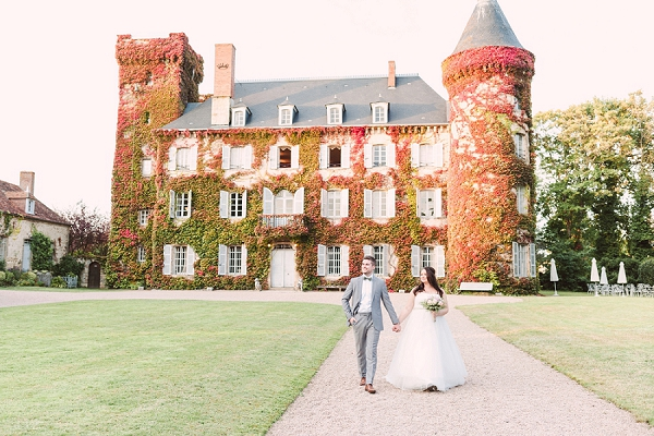 Chateau du Ludaix real wedding