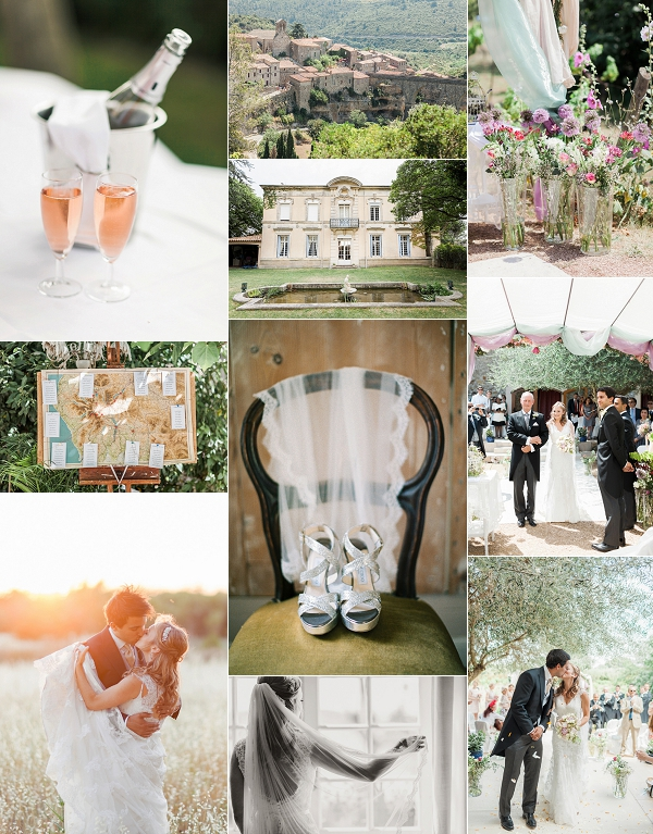 Fine Art Chateau du Puits es Pratx Real Wedding Snapshot