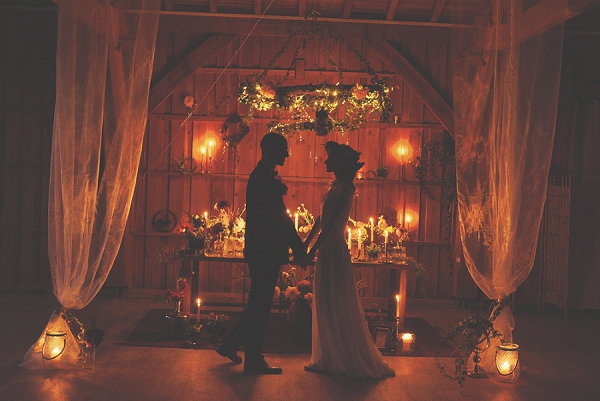 Magical Autumnal Elopement Style Shoot