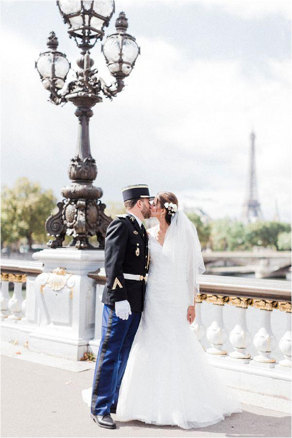 Military groom attire