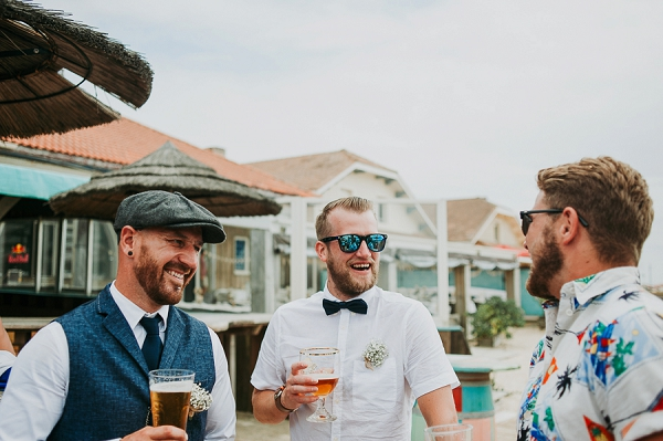 beach wedding in france