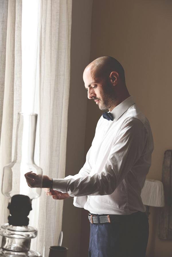 bow tie groom