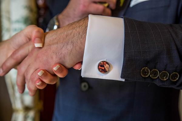 cufflink wedding ideas