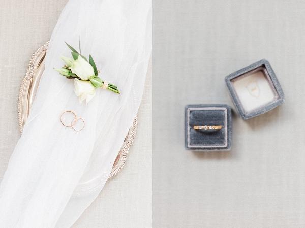 elegant bridal details