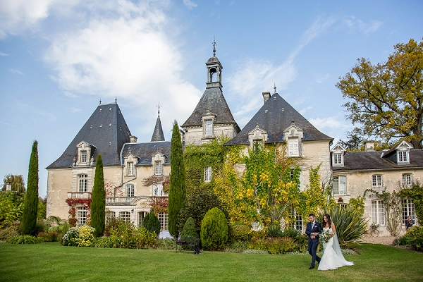 french chateau wedding | Image by Lydia Taylor Jones