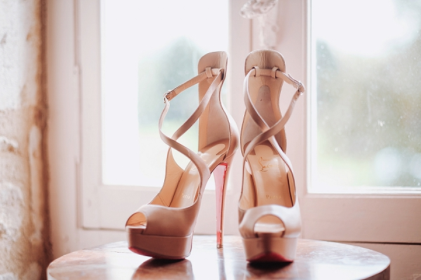 high wedding heels