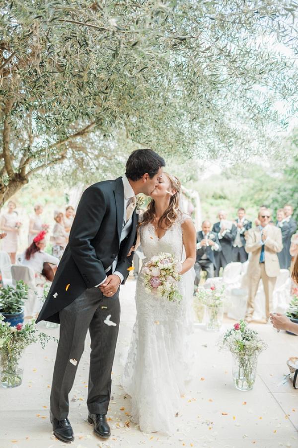 olive tree wedding ceremony