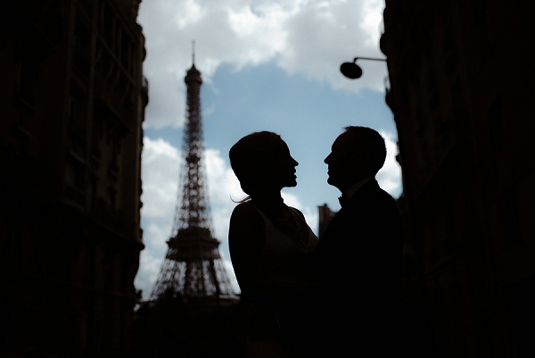 paris silhouette photo