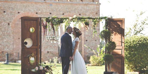wedding ceremony outdoor decor