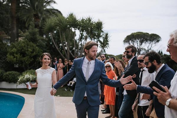 Cote D'Azur Outdoor Wedding