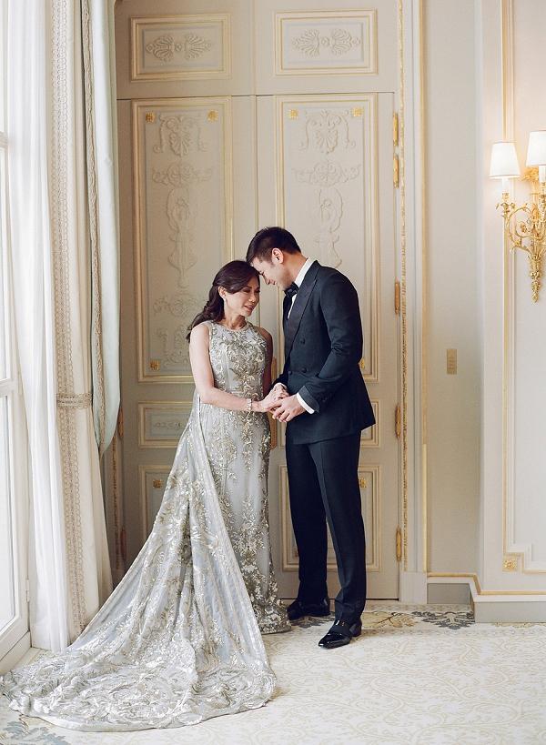 Elegant Celebrity Paris Wedding