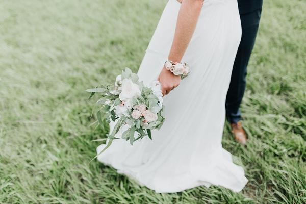Elsa Gary wedding gown