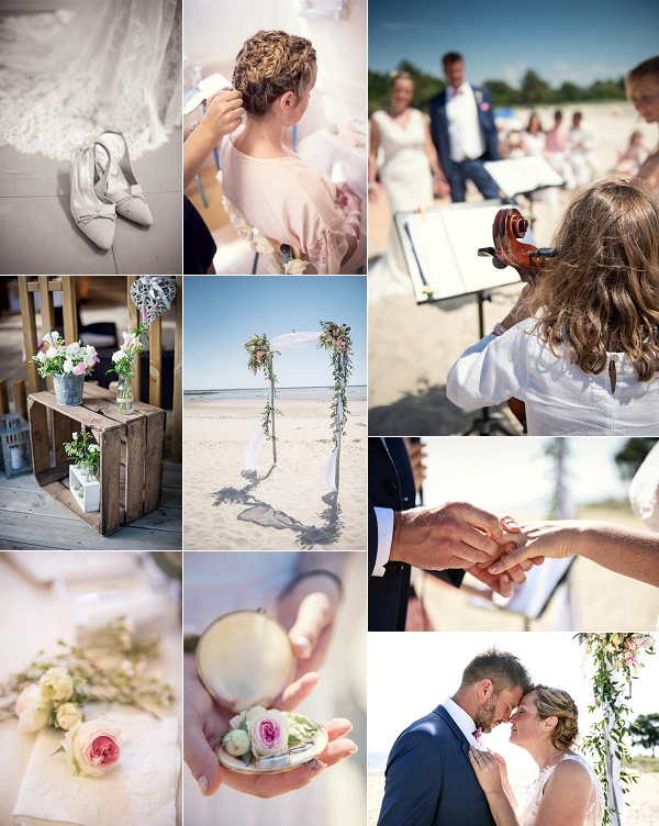 Emotional Beach Wedding Aquitaine France Snapshot
