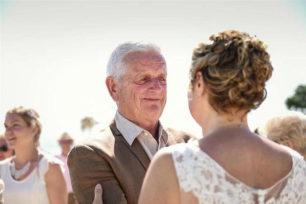 Emotional Beach Wedding