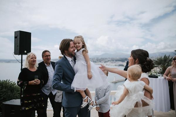 Family Riviera Wedding