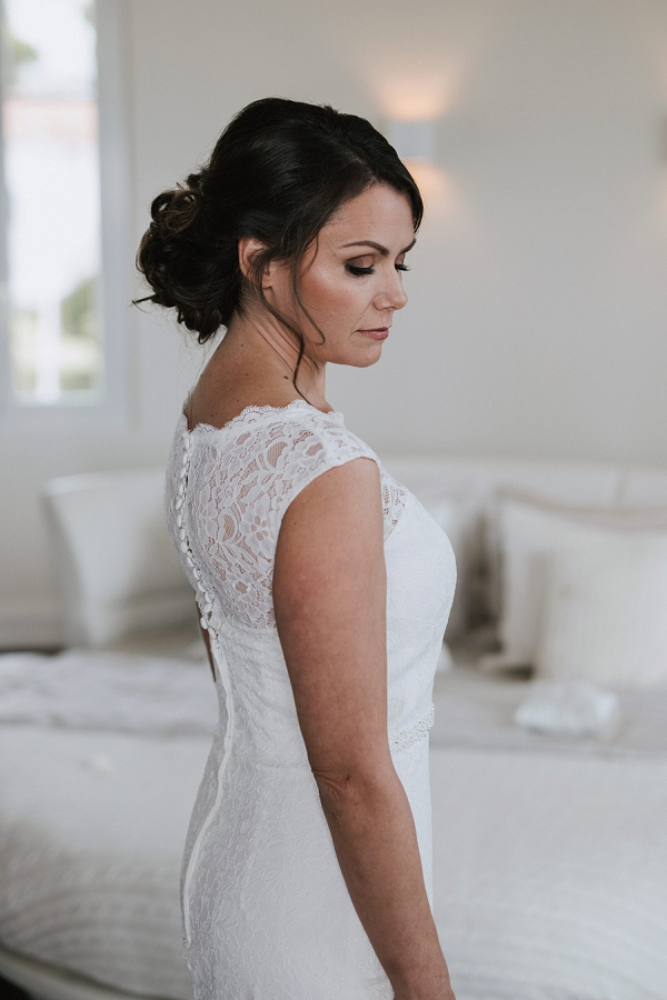 Fitted Lace Wedding Gown