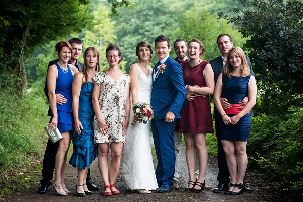 French Wedding Group Photo