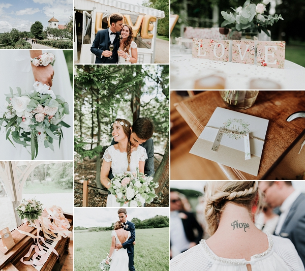 Luxurious Countryside Le Domaine du Feyel Wedding Snapshot