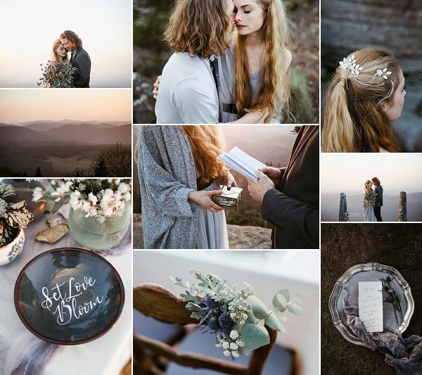 Mont Donon Winter Inspired Wedding Snapshot