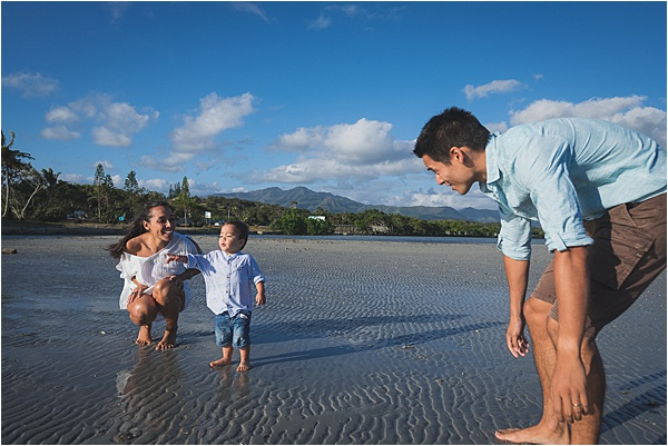 New Caledonia Wedding Family