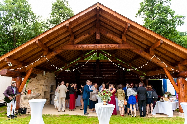 Outdoor Wedding Cocktail Hour