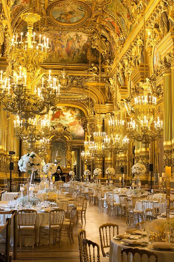 Paris Celebrity Wedding Extravaganza