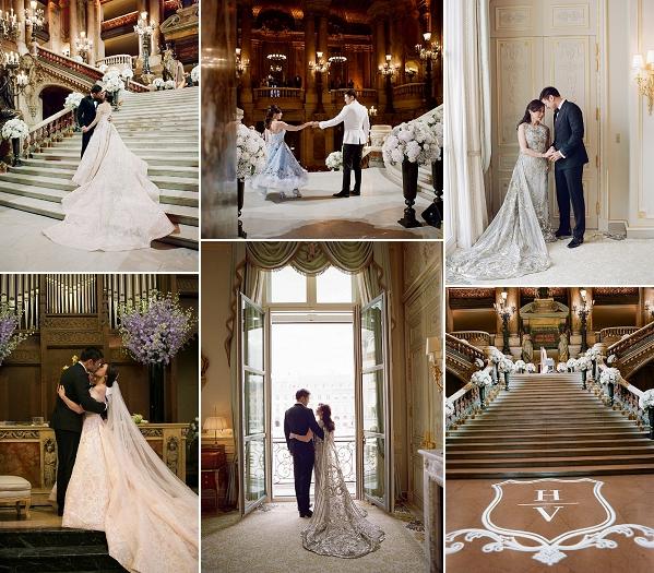 Paris Celebrity Wedding Extravaganza Snapshot