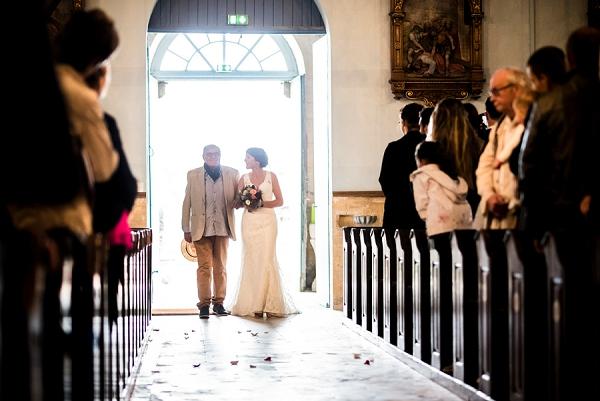 Traditional French Church Wedding