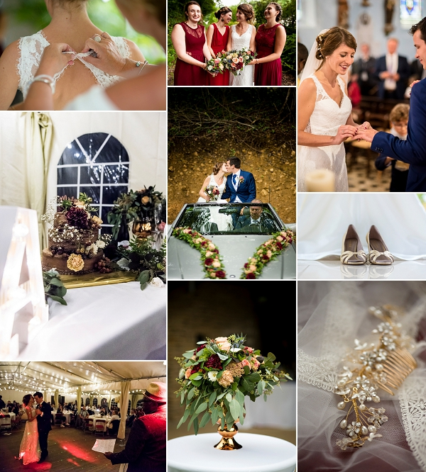 Traditional French Wedding Celebration Snapshot