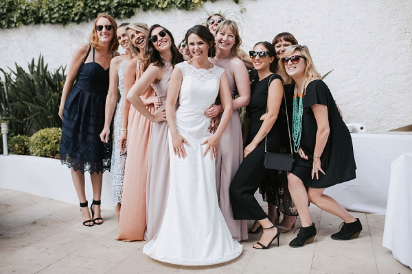 Villa Chateau la Tour Real Wedding Group Shots