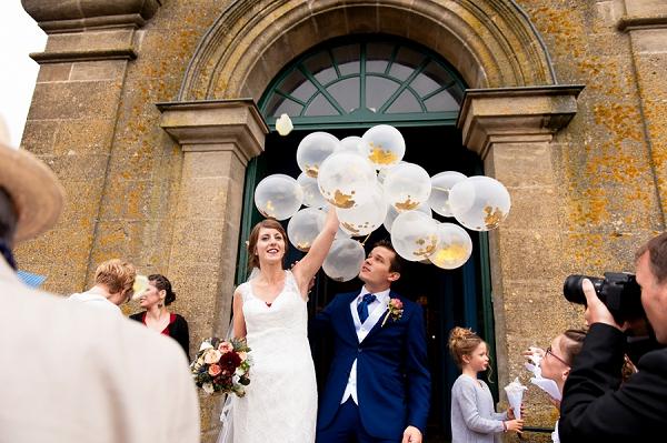 Wedding Day Confetti Baloons