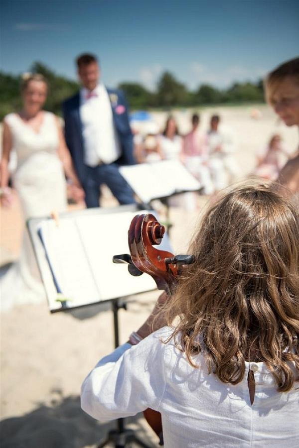 beach wedding france
