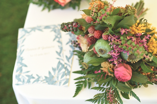 botanical inspired wedding flowers