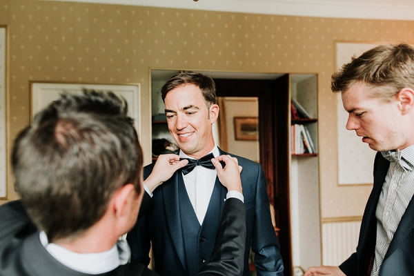 bowtie luxury wedding