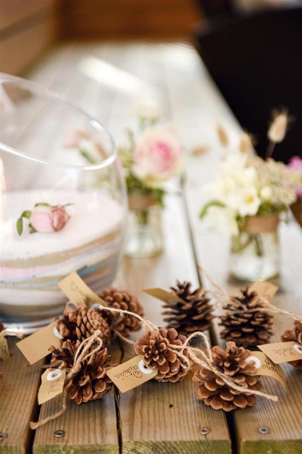 cone wedding decor