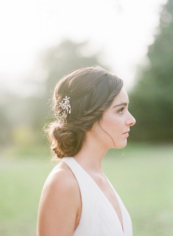 pretty bridal updo