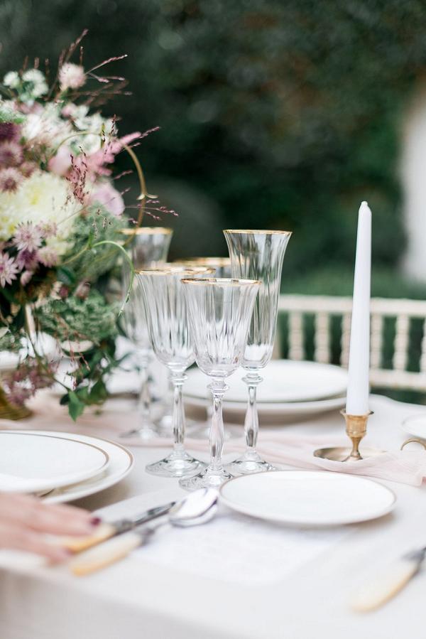 romantic wedding colour theme