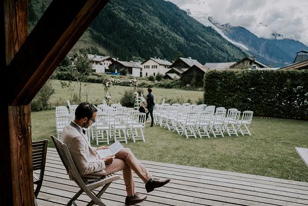wedding morning Chamonix