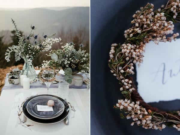 winter inspired wedding