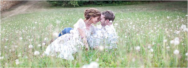 French Country Wedding Field
