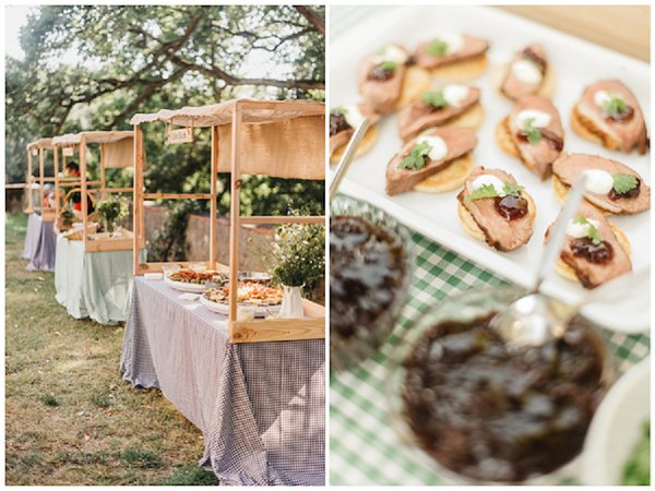 French Country Wedding Food