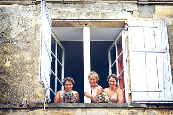 French Country Wedding Chateau Window