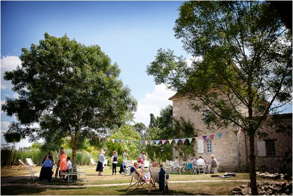 French Country Wedding Chateau Outdoor Lydia Taylor Jones