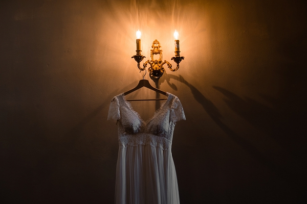 Confidentiel Creation lace wedding gown