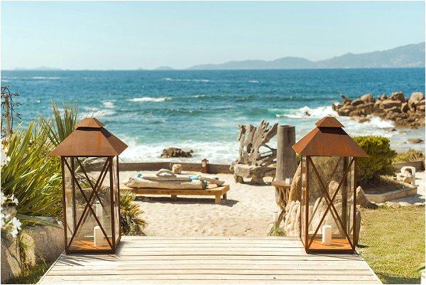 Corsica Beach Wedding