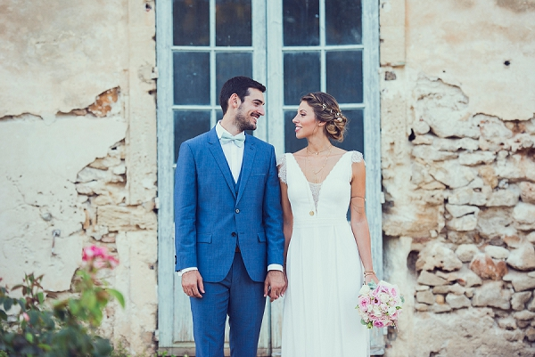 French Château de la Mogère Wedding